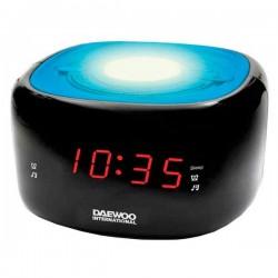 Ρολόι-Ραδιόφωνο Daewoo DCR-440BL LED FM Μπλε
