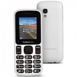 """Κινητό Τηλέφωνο για Ηλικιωμένους Thomson TLINK T12 1,77"""" Bluetooth VGA FM Λευκό"""