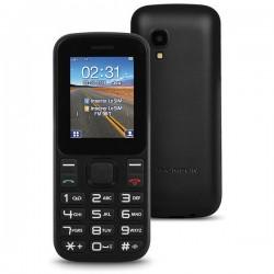 """Κινητό Τηλέφωνο για Ηλικιωμένους Thomson TLINK T12 1,77"""" Bluetooth VGA FM Μαύρο"""