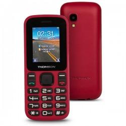 """Κινητό Τηλέφωνο για Ηλικιωμένους Thomson TLINK T12 1,77"""" Bluetooth VGA FM Κόκκινο"""