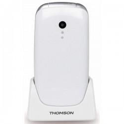 """Κινητό Τηλέφωνο για Ηλικιωμένους Thomson SEREA 63 2,4"""" Bluetooth VGA FM Λευκό"""