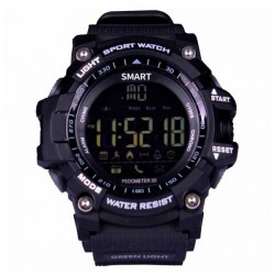 """Smartwatch BRIGMTON BWATCH-G1N 1,12"""" Bluetooth IP67 Μαύρο"""