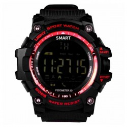 "Smartwatch BRIGMTON BWATCH-G1R 1,12"" Bluetooth IP67 Κόκκινο"