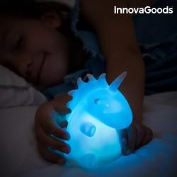 Πολύχρωμη Λάμπα Μονόκερος LEDicorn InnovaGoods