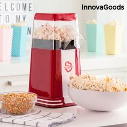 Συσκευή Κατασκευής Ποπ Κορν Hot & Salty Times InnovaGoods 1200W Κόκκινη