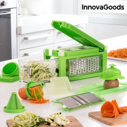 Τρίφτης και Κόφτης Λαχανικών 8 σε 1 με Βιβλίο Συνταγών InnovGoods