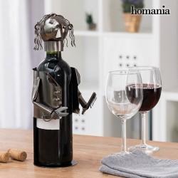 Μεταλλική Μπουκαλοθήκη Κομμωτής Homania
