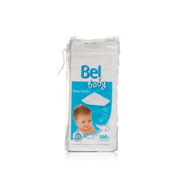 Γάζες Μη Υφασμένες Baby Bel (100 uds)