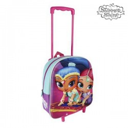 Σχολική Τσάντα 3D με Ρόδες Shimmer and Shine 913