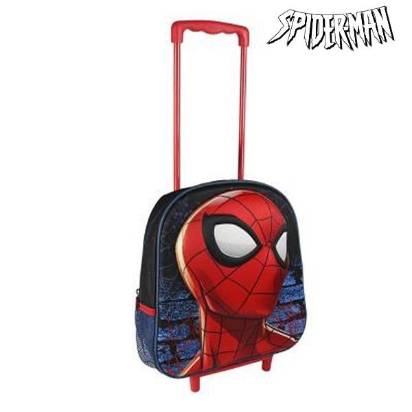 a09a174f6ac Σχολική Τσάντα 3D με Ρόδες Spiderman 937