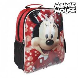 Σχολική Τσάντα με LED Minnie Mouse 907
