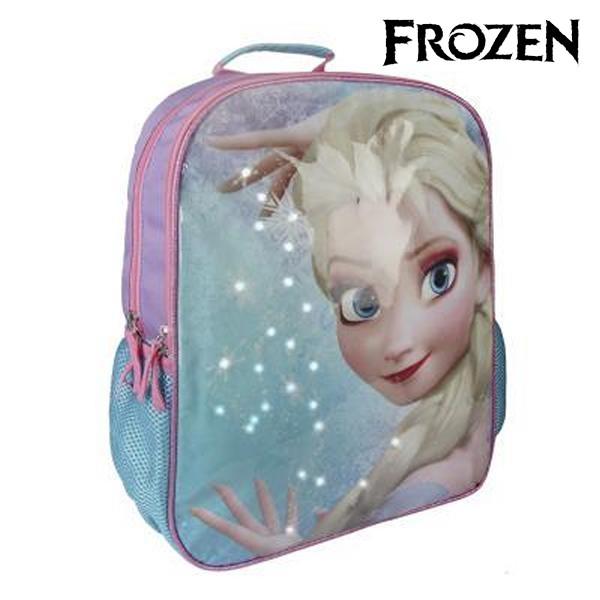3042aae993 MagicStore Σχολική Τσάντα με LED Frozen 914