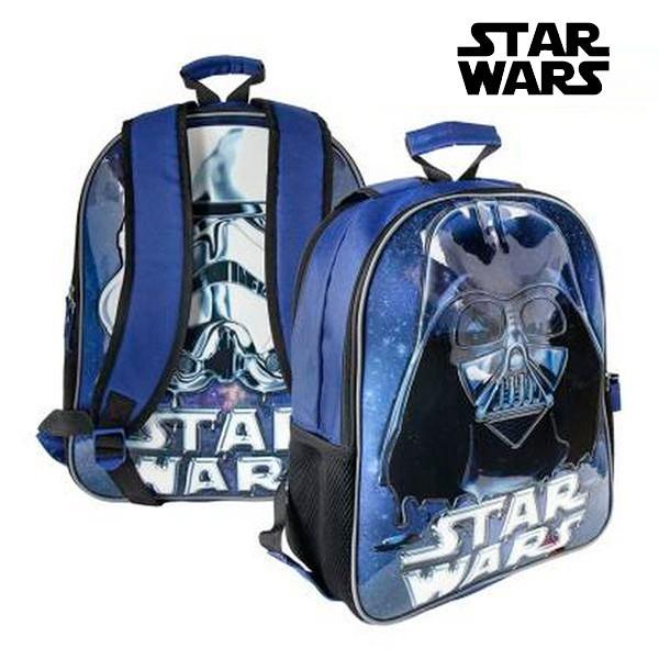 ccc61314842 MagicStore Αναστρέψιμη Σχολική Τσάντα Star Wars 8966