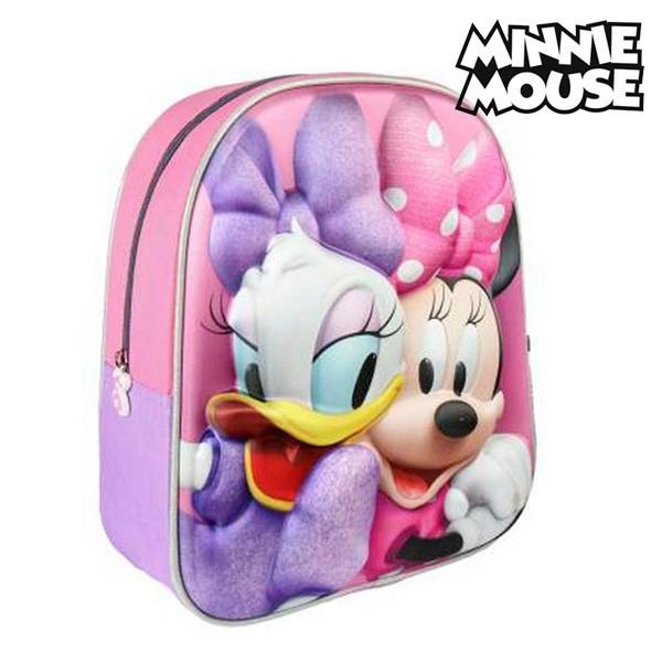 664d82adab MagicStore Σχολική Τσάντα 3D Minnie Mouse 8058