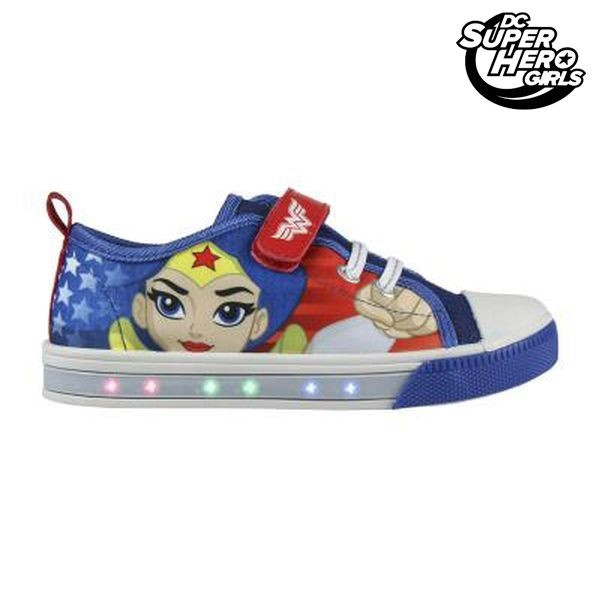 Casual Παπούτσια με LED DC Super Hero Girls 4004 (μέγεθος 26)