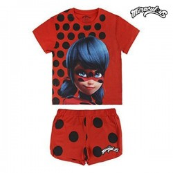 Kαλοκαιρινή παιδική πιτζάμα Lady Bug 1415 (μέγεθος 4 ετών)