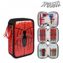 Τριπλή κασετίνα Spiderman 8492 Κόκκινο