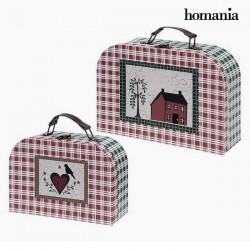 Σετ Xαρτοφυλάκων Homania 7840 (2 uds) Χαρτόνι