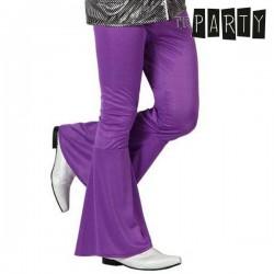 Παντελόνι για Ενήλικους Th3 Party Disco Μωβ