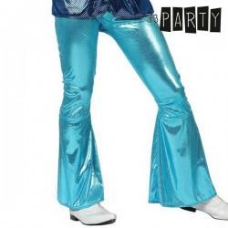 Παντελόνι για Ενήλικους Th3 Party Disco Λαμπερό Μπλε