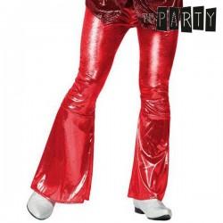 Παντελόνι για Ενήλικους Th3 Party Disco Λαμπερό Κόκκινο