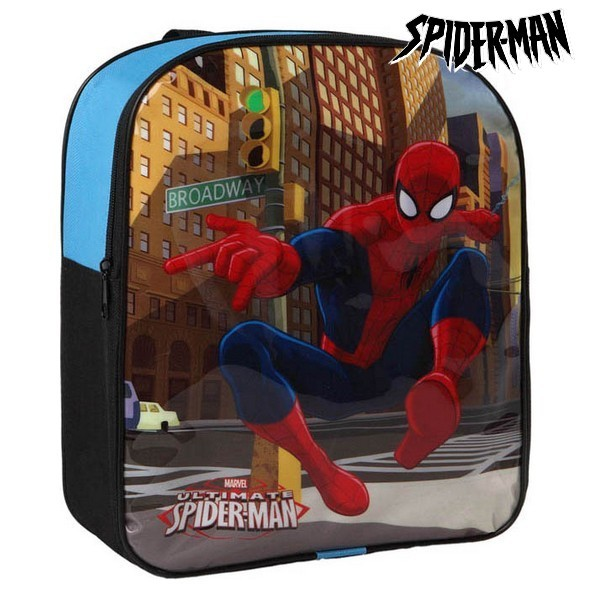 6ae8662f88 Σχολική Τσάντα Spiderman 70808 Μπλε Μαύρο