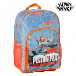 Σχολική Τσάντα Super Wings 73523 Μπλε Πορτοκαλί