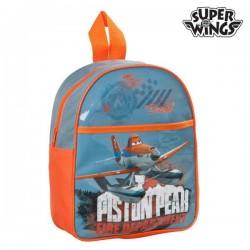 Σχολική Τσάντα Super Wings 73547 Μπλε Πορτοκαλί