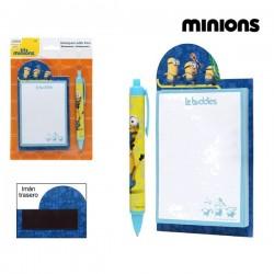 Μολύβι + Σημειωματάριο Minions 59483 Κίτρινο Μπλε