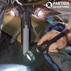 Φακός LED 3 σε 1 με Τρίποδο Total Torch