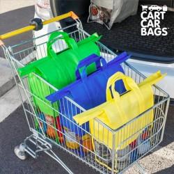 Τσάντες Οργάνωσης για τις Αγορές και το Πορτμπαγκάζ Cart Car Bags (πακέτο με 4)