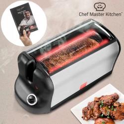 Φορητός Ηλεκτρικός Φούρνος Smart Rotisserie S με Βιβλίο Συνταγών 600W