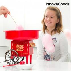 Μηχανή Κατασκευής Μαλλί της Γριάς InnovaGoods 500W Κόκκινη