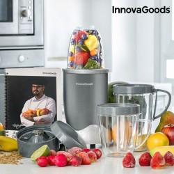 Μπλέντερ με Βιβλίο Συνταγών Nutri•One Touch InnovaGoods 600W Γκρι