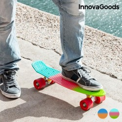 Skateboard Mini Cruiser InnovaGoods (4 Ρόδες)