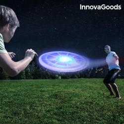 Frisbee με Πολύχρωμα LED InnovaGoods