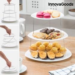 Περιστρεφόμενα Αναδιπλούμενα Πιάτα InnovaGoods