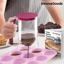 Κανάτα Διανεμητής Ζαχαροπλαστικής με Βιβλίο Συνταγών InnovaGoods