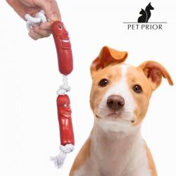 Σχοινί με Λουκάνικα για Σκύλους Pet Prior
