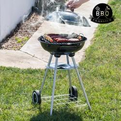 Μπάρμπεκιου Κάρβουνου με Καπάκι και Ρόδες BBQ Classics