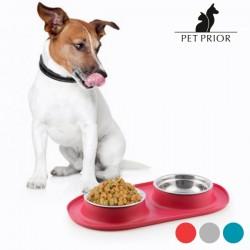 Αντιολισθητική Ταΐστρα-Ποτίστρα για Ζώα Pet Prior