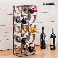 Μεταλλική Μπουκαλοθήκη Belt Homania (10 Μπουκάλια)
