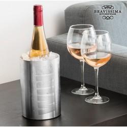 Ψυκτήρας για Μπουκάλια Inox Wine Bravissima Kitchen
