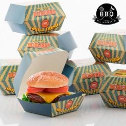 Σετ με Κουτιά για Χάμπουργκερ BBQ Classics (Πακέτο με 8)