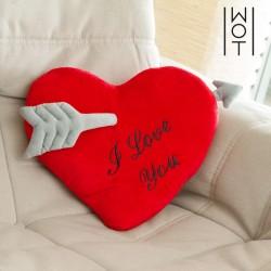 Μαξιλάρι Καρδιά με Βέλος I Love You Wagon Trend (35 εκ)