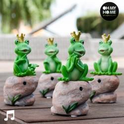 Βάτραχος Princely με Ήχο και Αισθητήρα Κίνησης Oh My Home