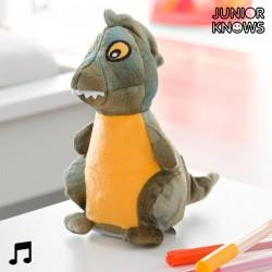 Λούτρινος Δεινόσαυρος με Εγγραφή και Αναπαραγωγή Φωνής Junior Knows