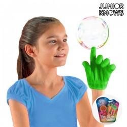 Παιχνίδι με Σαπουνόφουσκες με Γάντι Junior Knows