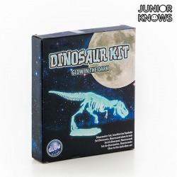 Φθορίζον 3D Πάζλ Σκελετός Δεινοσαύρου Junior Knows