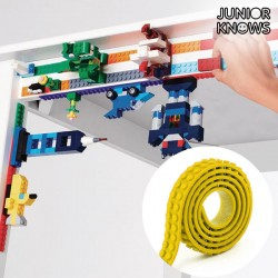 Κίτρινη Κολλητική Ταινία για Κατασκευές Magic Junior Knows